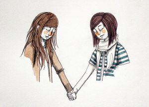 Sisters. Image found on Flickr.com